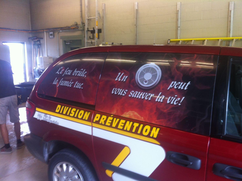 Van de prévention d'urgence