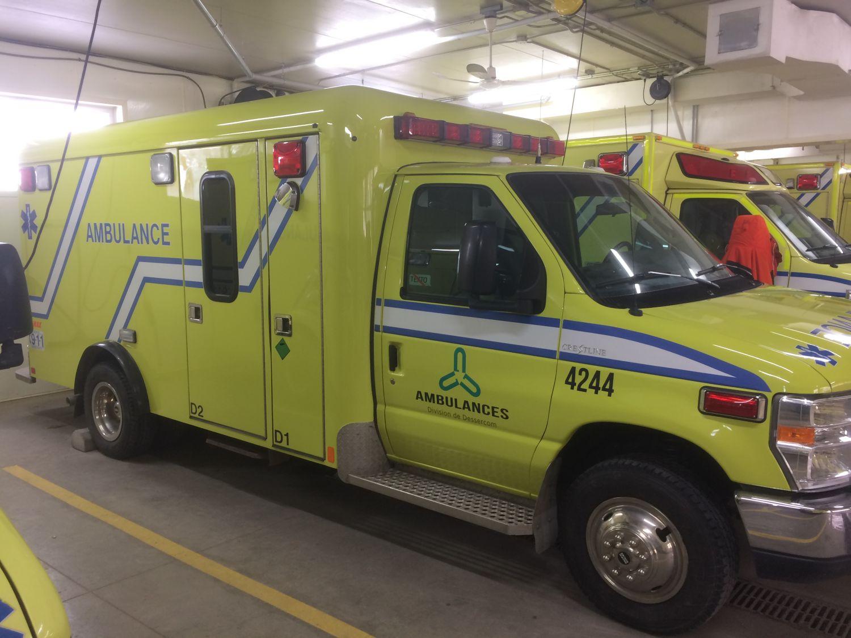Véhicule d'urgence, ambulance